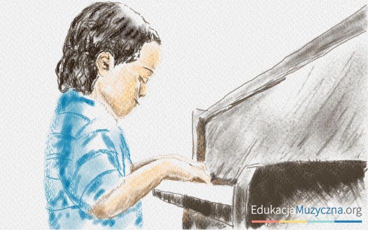 """Im dłużej dziecko uczy się i ćwiczy grę na instrumencie, tym szybciej formuje się jego kora mózgowa, czyli tak zwane """"szare komórki"""" i rozwijają się umiejętności koncentracji, zarządzania niepokojem i kontroli emocjonalnej. Ostatnie badania Uniwersytetu w Vermont."""