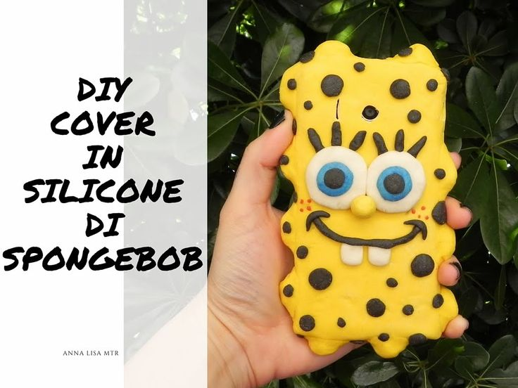 DIY COVER in silicone SPONGEBOB fai da te