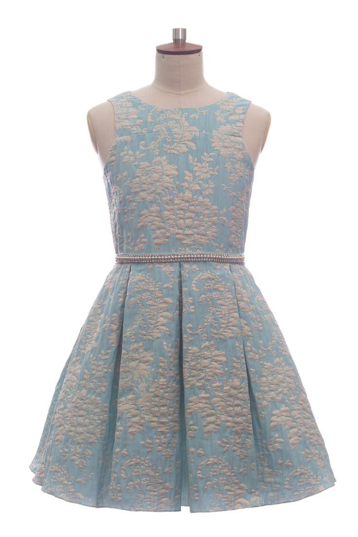 TURQUOISE LUXURY PROM DRESS