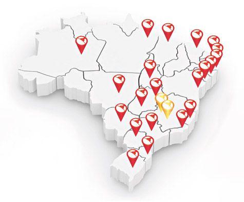 Mapa Distribuidora Predileta