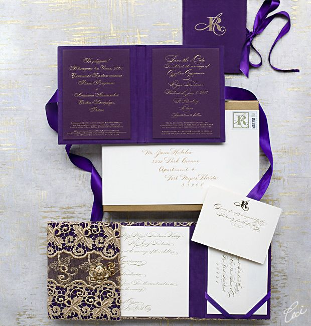 16 best Daring Wedding Invitations images on Pinterest Luxury