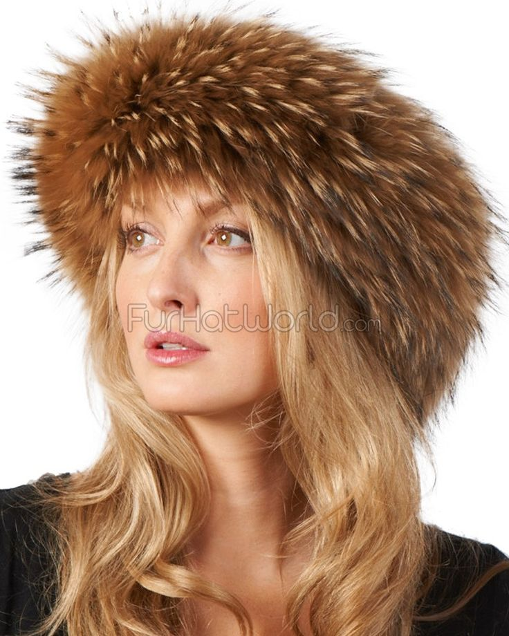 Finn Raccoon Fur Headband: FurHatWorld.com