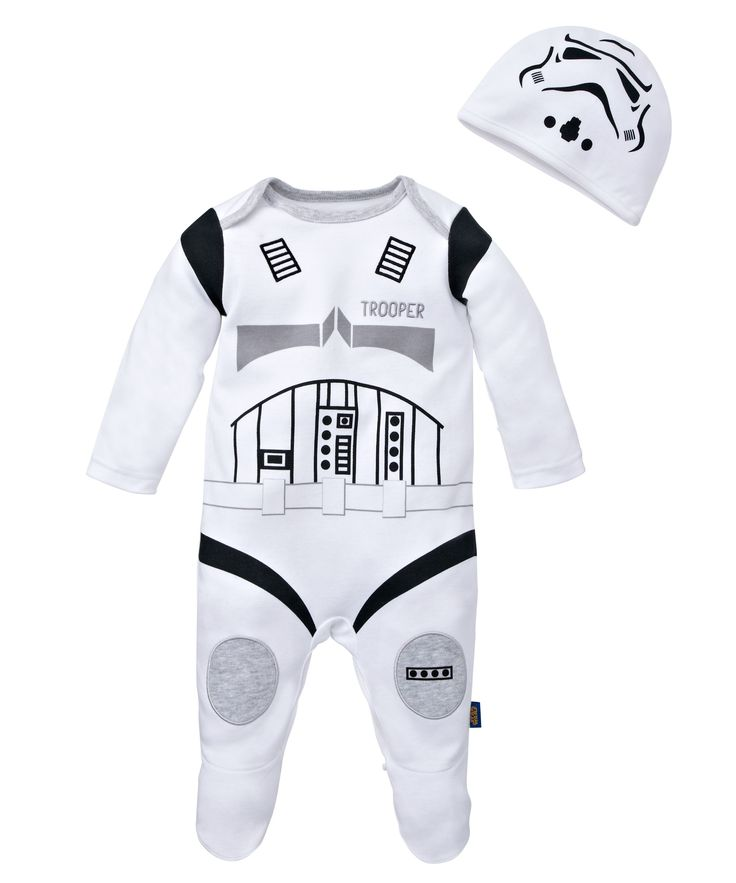 so tempted to get one just incase Mango is a boy!!! Star Wars Storm Trooper All in One with Hat