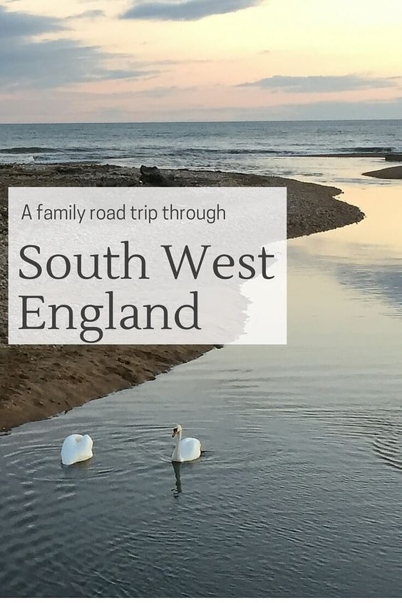 Places to visit and things to do on a family road trip through South West England - from coastal drives, abbeys, castles and good food options!