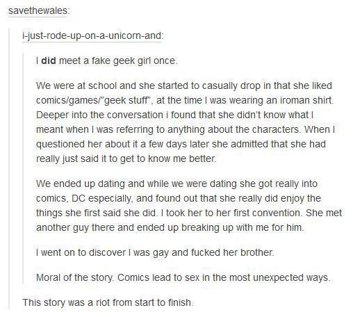 dating stories tumblr