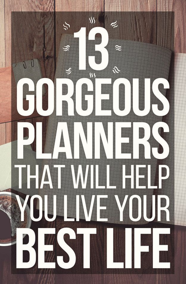 13 Ingenious Planners That Will Help You Get Your Life Together