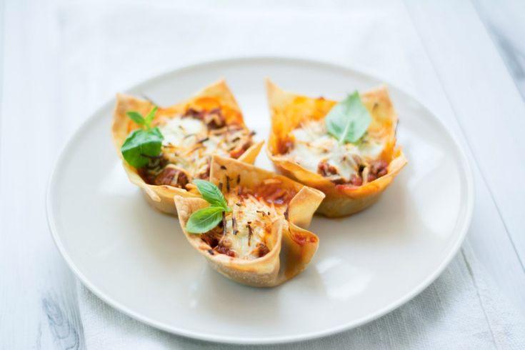Mini lasagne al ragù ricetta