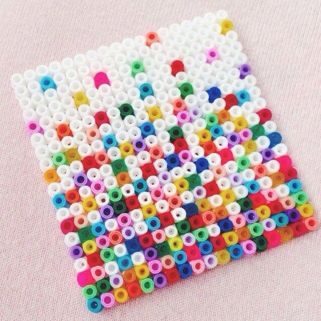 Hama bead design by sandracherryhrt