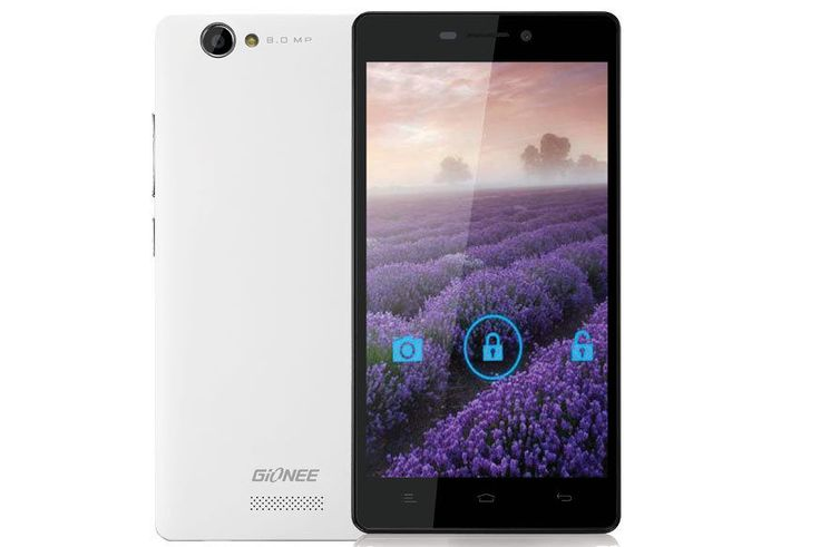 GIONEE M2 8GB WHITE - 1 YEAR MANUFACTURER WARRANTY Rs 9898