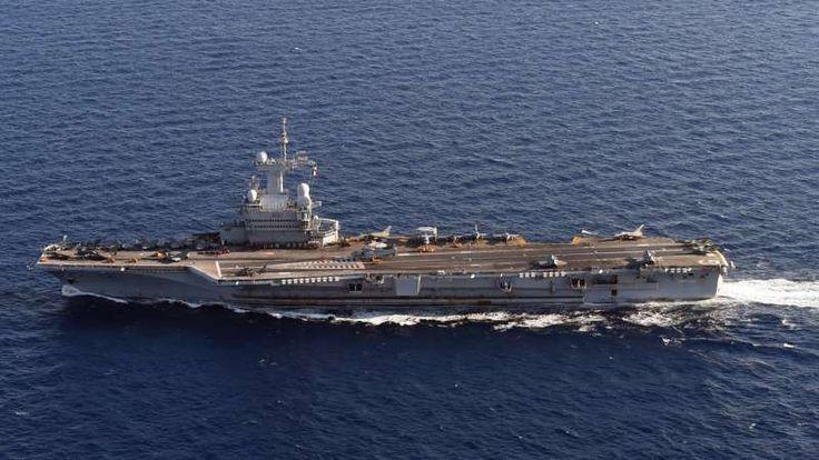 De straaljagers stegen op van het Franse vliegdekschip Charles de Gaulle om nog intensiever doelen van IS te treffen.
