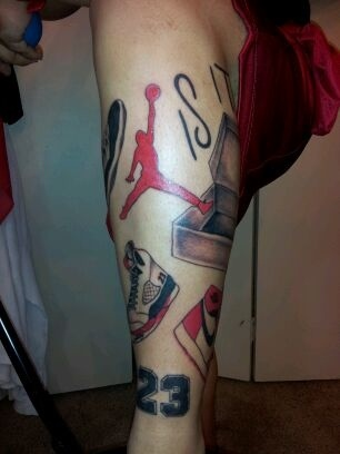 air jordan tattoo