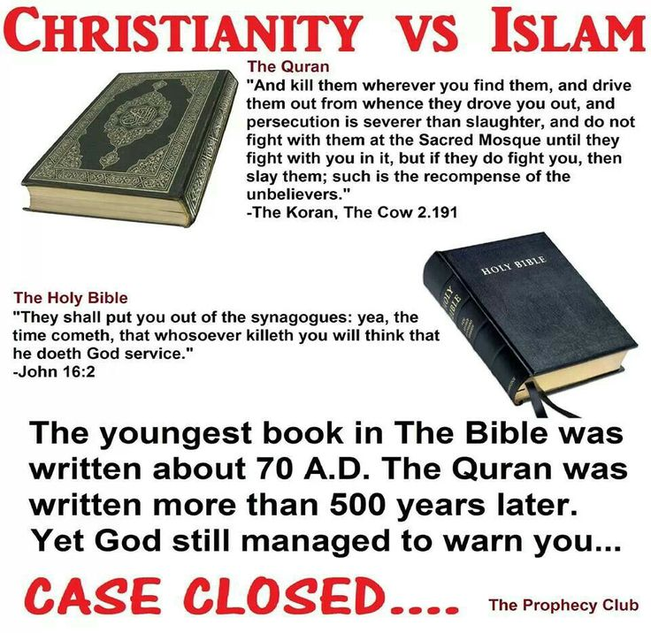 bible vs koran essays The qur'an was revealed to the prophet muhammad by god in arabic the quran  is  we will write a custom essay sample on  bible vs the quran.