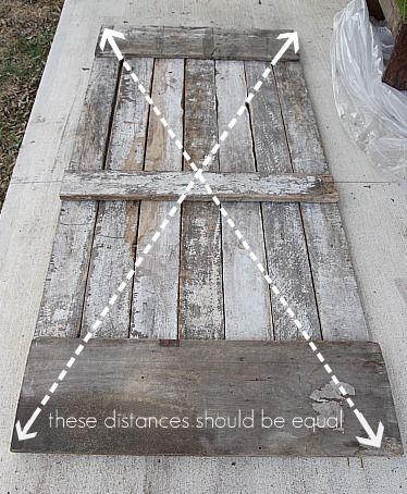 How to make a barn door door