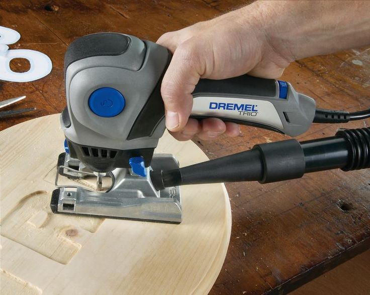 Dremel Trio with Routing Bit
