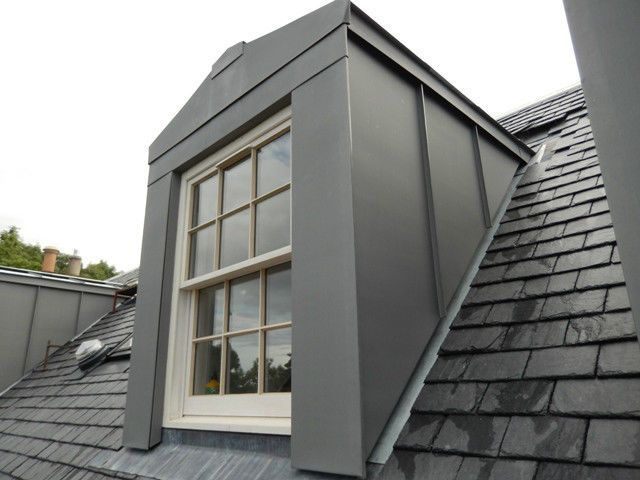 Flat roof dormers google search fachadas pinterest for What is window cladding