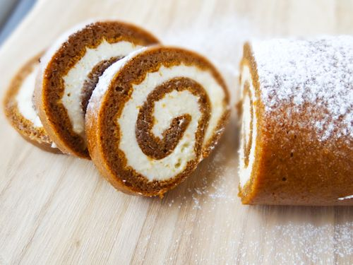 The #PumpkinRoll is an elegant and classic fall dessert. Impress your guests with this surprisingly simple recipe.