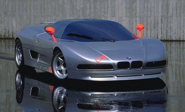 BMW Nazca C2 (ItalDesign), 1991 - Появился логотип BMW, дверные ручки переехали с горизонтальной полки на боковины