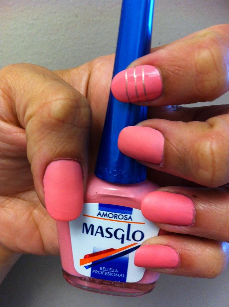 Amorosa con Masglo. Masglo Nails