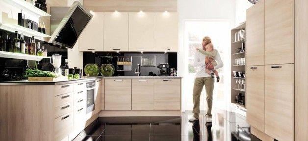 Modern Brown Kitchen Design
