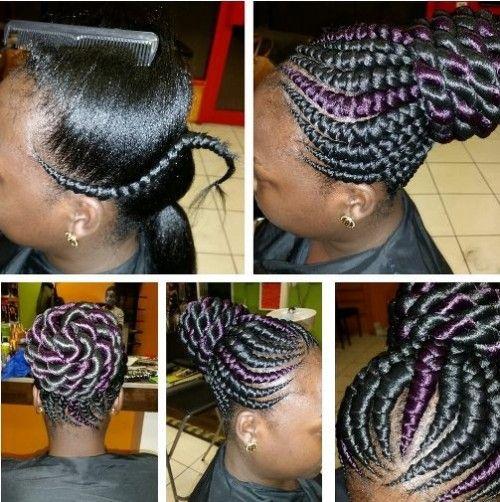 Brilliant 1000 Images About Braids On Pinterest Ghana Braids Cornrows Hairstyles For Women Draintrainus