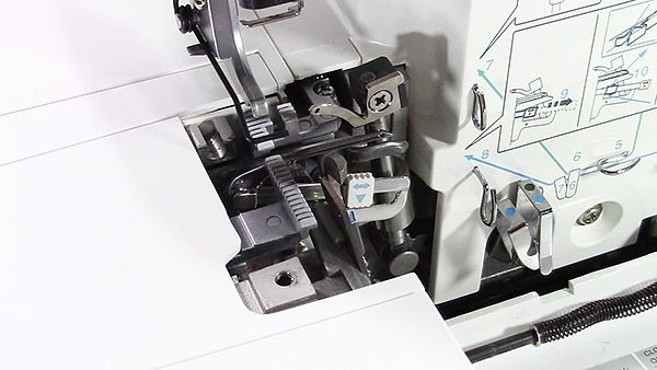 take apart your serger and clean the lint // how to clean a serger // serger maintenance