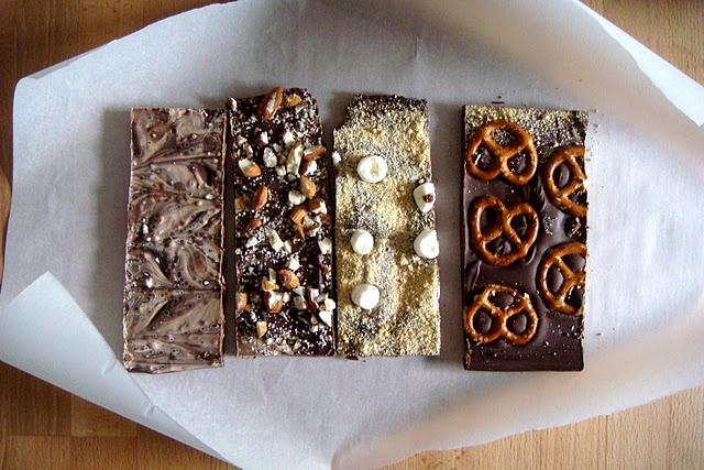 homemade chocolate bark | yum | Pinterest