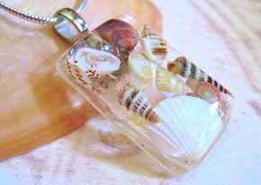 Pingente de conchas e caramujos                                                                                                                                                                                 Mais