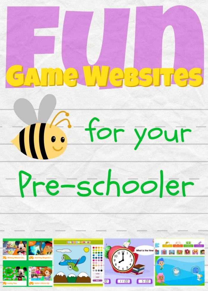 Get your toddler ready for preschool with some of these fun online games!