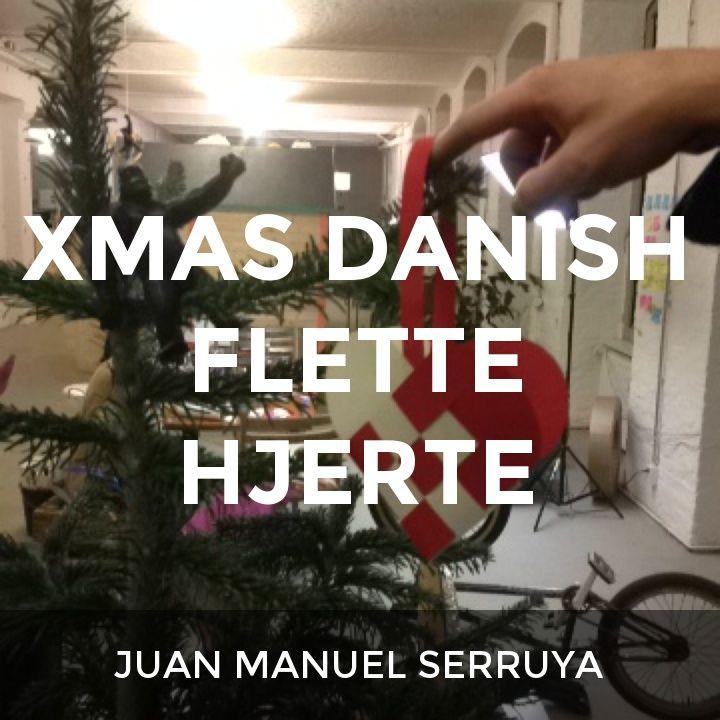 XMAS DANISH FLETTE HJERTE: a How.Do DIY original