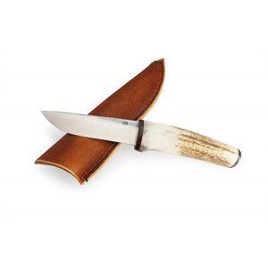 Cuchillo de caza con cabo en asta de venado y funda de cuero http://www.taracu.com/es/cuchillos-de-caza/241-cuchillo-de-caza-con-mango-en-asta-de-venado-y-funda.html #cuchillo #caza #monte #asta #venado #funda