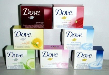 I love Dove Soap. Smells clean and it makes skin soft.