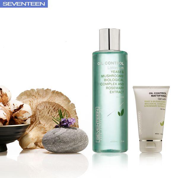 Oily Skin Care Treatment | Seventeen Cosmetics #skincare #seventeen #cosmetics #oily #skin #gel #lotions