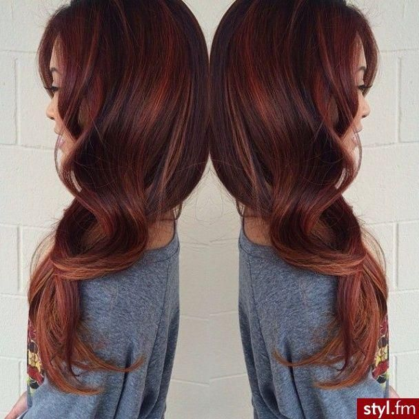 STUNNING auburn. This actually makes me contemplate trying red hair. You only live once, right?