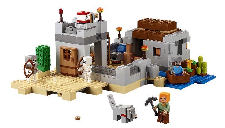 LEGO Minecraft 21121 Der Wüstenaussenposten