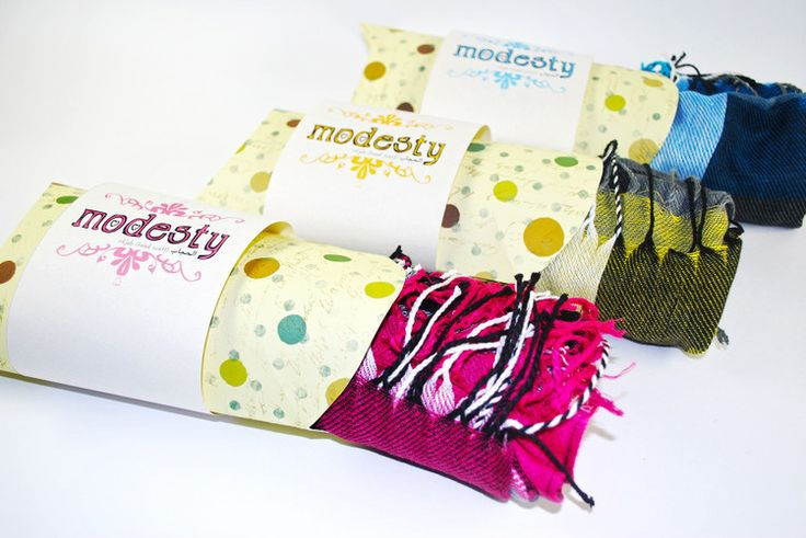 Modesty Hijabs Packaging on Behance