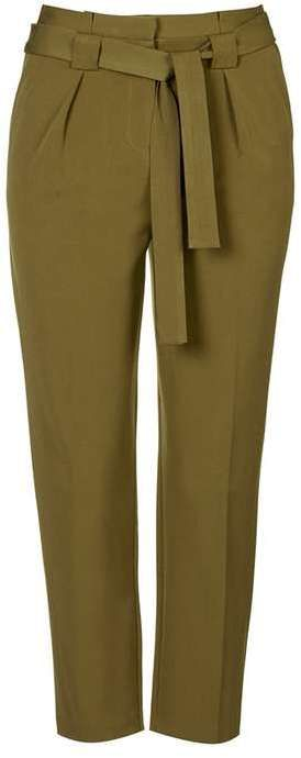 Petite paperbag trousers
