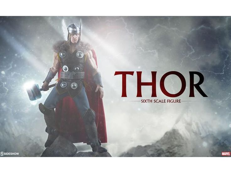 *PRE-ORDER* THOR 1/6 Scale Marvel Action Figure By Sideshow Collectibles