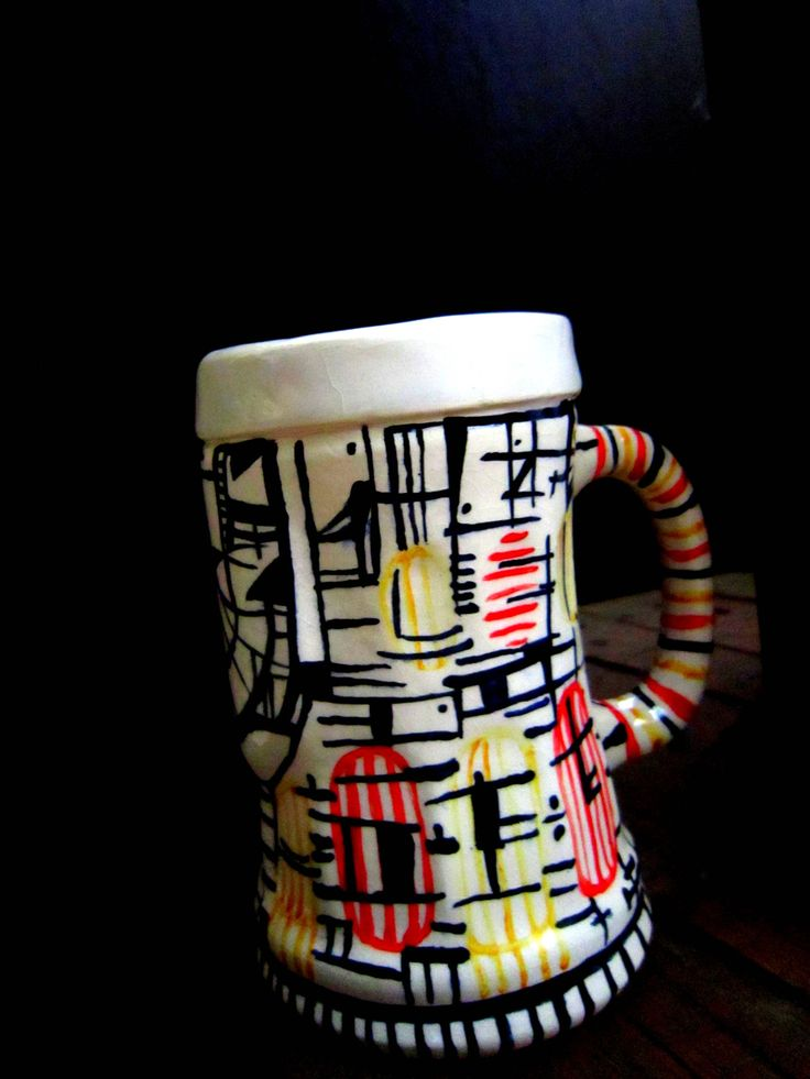 Beer Chop - Ceramic  2015 Sophia Lenzi http://sophiaceramica.tumblr.com/