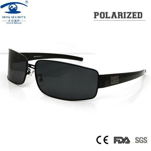 Mens Polarized Sport Sunglasses Pilot Sun Glasses for Men UV Protection Sun Eye Glasses for Male Brand Design with Logo