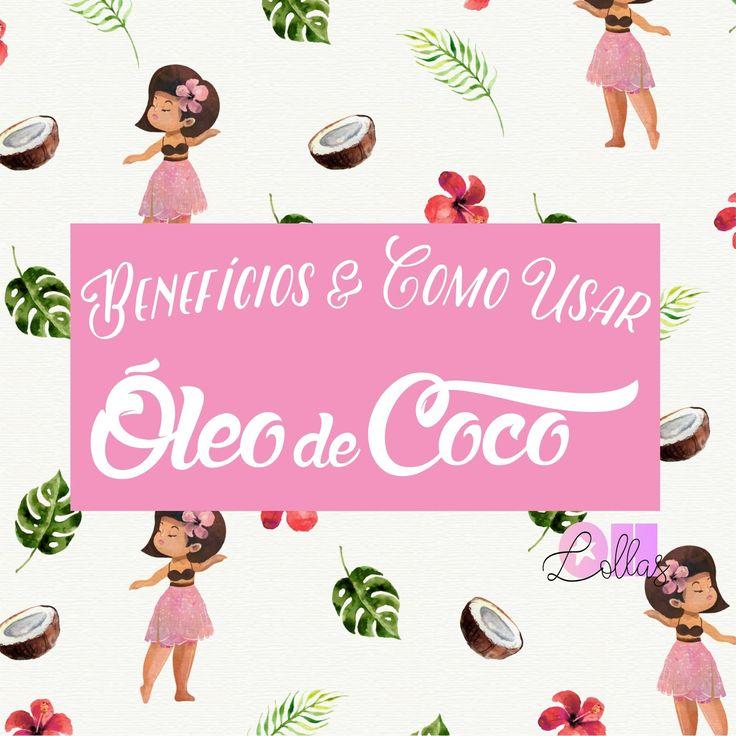 Óleo de Coco no Cabelo: benefícios, como usar e por que ele é tão bom? - Oh, Lollas