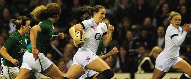Women's Rugby World Cup 2014: Emily Scarratt confident of title - http://rugbycollege.co.uk/england-rugby/womens-rugby-world-cup-2014-emily-scarratt-confident-of-title/