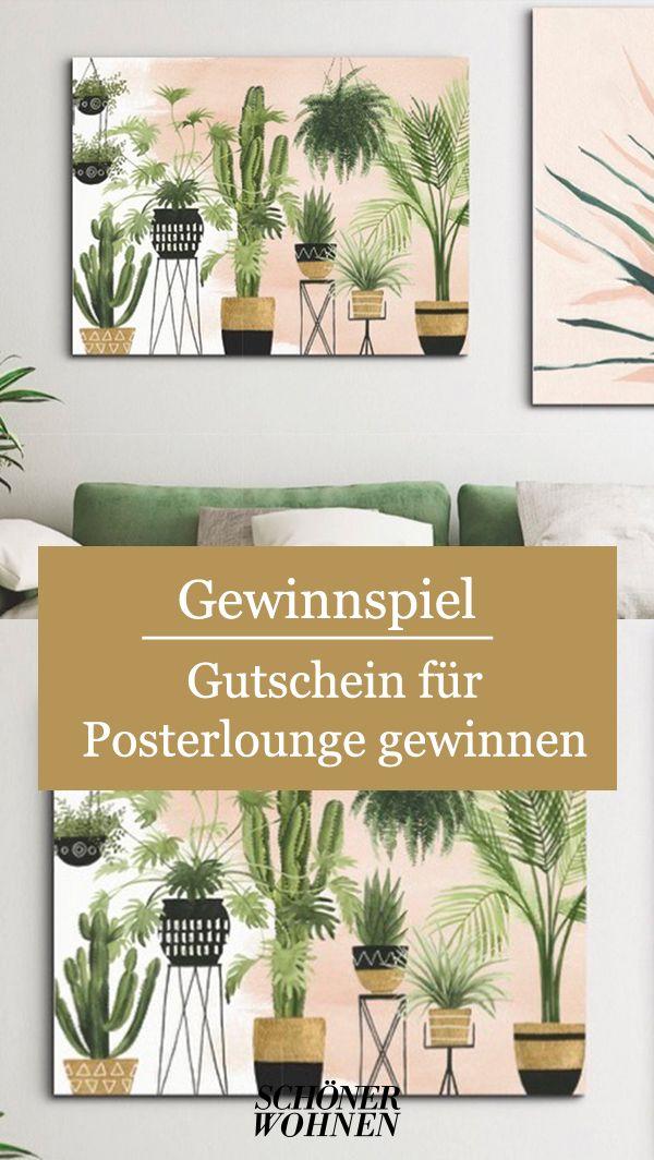 Gewinnen Sie Einen Gutschein Fur Posterlounge Shoppen Sie Ihre Neuen Wandbilder In 2020 Gutscheine Poster Lounge