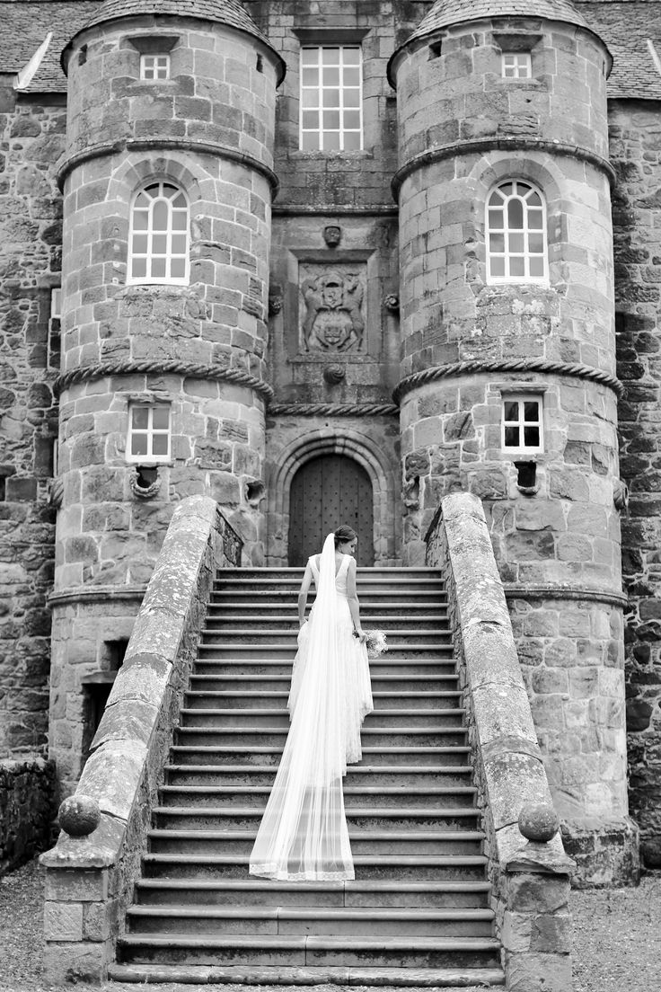 Our old castle makes a lovely backdrop for photographs
