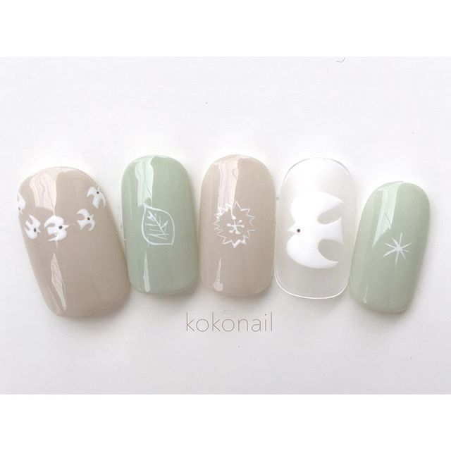 kokonail.nail on instagram