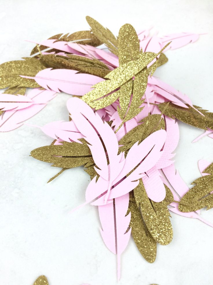 Feather Confetti | Bohemian Baby Shower | Boho Party Theme | Boho Chic | Wedding | Bohemian Wedding Decorations | Table Decorations | Pink by paperconfettidotcom on Etsy https://www.etsy.com/listing/450124386/feather-confetti-bohemian-baby-shower