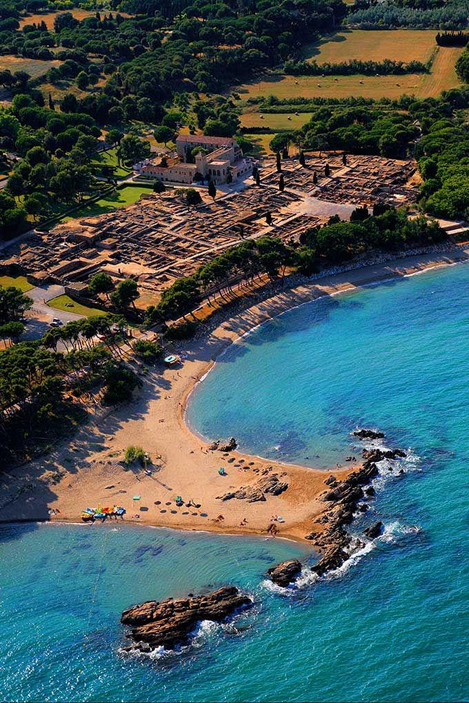 Vista aérea de Empúries © ACT / Lluís Carro
