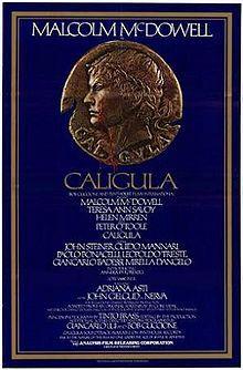 Caligula, 1979, Tinto Brass (Malcolm McDowell, Helen Mirren). http://en.wikipedia.org/wiki/Caligula_(film)