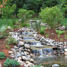eclectic landscape by Miller Creek Lawn & Landscape