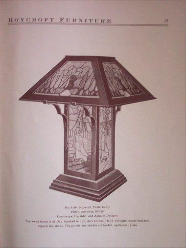 17 Best images about Roycroft Lamps & Lights on Pinterest