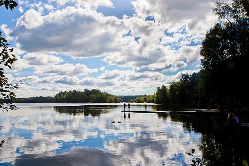 Delsjön, nära kanotklubben